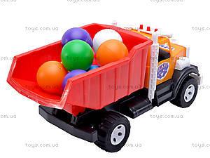 Игрушечный грузовик, с шариками, 0081, цена