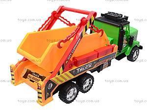 Игрушечный грузовик «Стройка», 1012А088, купить