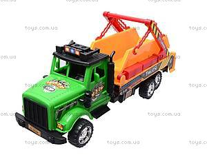 Игрушечный грузовик «Стройка», 1012А088