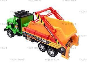 Игрушечный грузовик «Стройка», 1012А088, фото