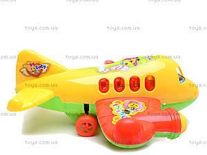 Игрушечный инерционный самолет, 129, детские игрушки