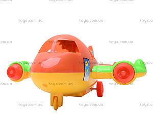 Игрушечный инерционный самолет, 129, toys