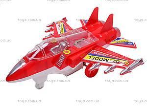 Игрушечный инерционный самолетик, 918-93, фото