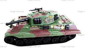 Игрушечный инерционный танк, 6661, фото