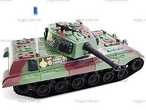 Игрушечный инерционный танк, 6661, игрушки