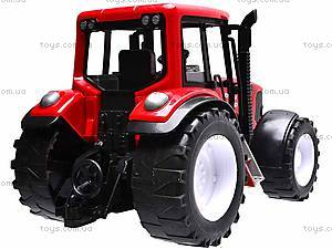 Игрушечный инерционный трактор, 1089A, купить