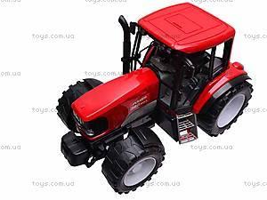 Игрушечный инерционный трактор, 1089A, цена