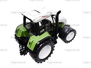Игрушечный инерционный трактор для детей, 1089, отзывы