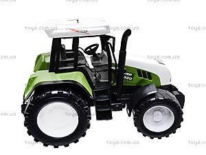 Игрушечный инерционный трактор для детей, 1089, игрушки