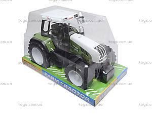 Игрушечный инерционный трактор для детей, 1089