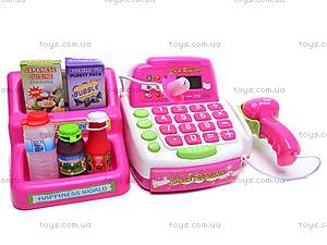 Игрушечный кассовый аппарат «Мой магазин», 7255