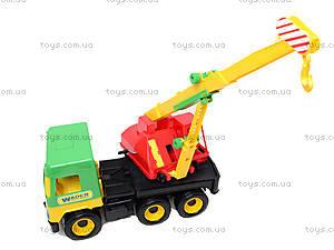 Игрушечный кран Middle truck, 39226, отзывы