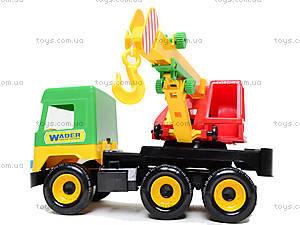 Игрушечный кран Middle truck, 39226, игрушки