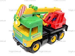 Игрушечный кран Middle truck, 39226, детские игрушки