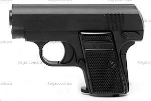 Игрушечный металлический пистолет, с пулями, K18, отзывы
