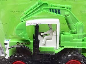 Игрушечный металлический трактор, 8161, купить