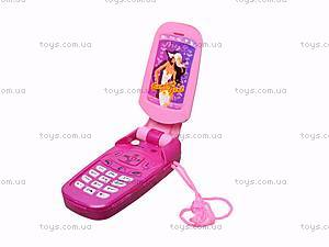 Игрушечный мобильный телефон для девочек, 8988-B