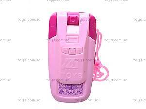 Игрушечный мобильный телефон для девочек, 8988-B, фото