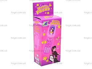 Игрушечный мобильный телефон для девочек, 8988-B, отзывы