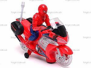 Игрушечный мотоцикл «Человек Паук», 1207
