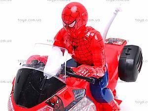 Игрушечный мотоцикл «Человек Паук», 1207, купить