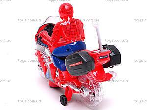 Игрушечный мотоцикл «Человек Паук», 1207, отзывы