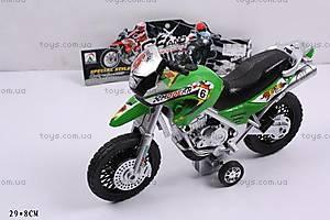 Игрушечный мотоцикл, инерционный, 908