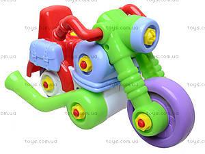 Игрушечный мотоцикл-конструктор, ИП.30.002, купить