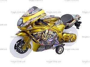 Игрушечный мотоцикл с музыкой, 902-9, купить