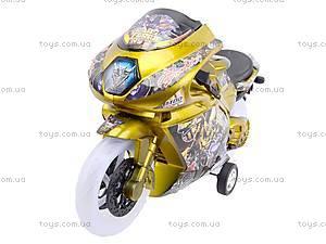 Игрушечный мотоцикл с музыкой, 902-9, фото