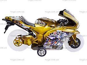 Игрушечный мотоцикл с музыкой, 902-9, отзывы