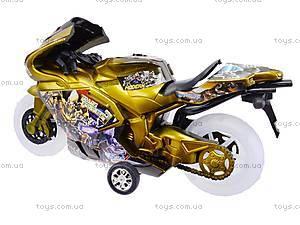 Игрушечный мотоцикл с музыкой, 902-9, цена