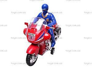 Игрушечный мотоцикл с водителем, CZ003A