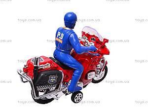 Игрушечный мотоцикл с водителем, CZ003A, купить