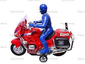 Игрушечный мотоцикл с водителем, CZ003A, отзывы
