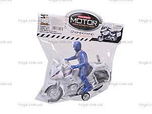 Игрушечный мотоцикл с водителем, CZ003A, цена