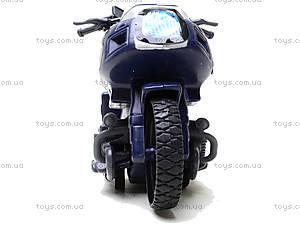Игрушечный мотоцикл Swat, 999-063G, детские игрушки