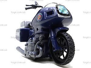Игрушечный мотоцикл Swat, 999-063G, магазин игрушек