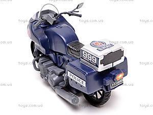 Игрушечный мотоцикл Swat, 999-063G, купить