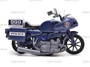 Игрушечный мотоцикл Swat, 999-063G, фото