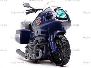 Игрушечный мотоцикл Swat, 999-063G, отзывы