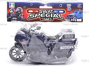 Игрушечный мотоцикл Swat, 999-063G