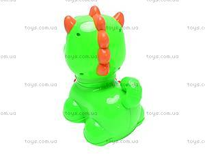 Игрушечный музыкальный динозаврик, Q-34, купить