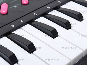 Игрушечный музыкальный орган с микрофоном, TX7799, купить