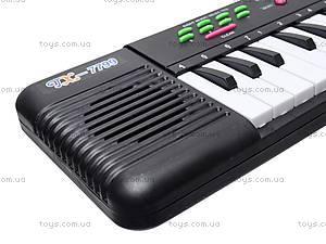 Игрушечный музыкальный орган с микрофоном, TX7799, детские игрушки