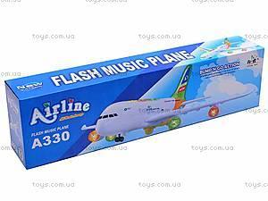 Игрушечный музыкальный самолет, A330-130, цена