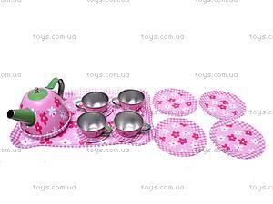 Игрушечный набор чайной посуды, 9798-12, фото
