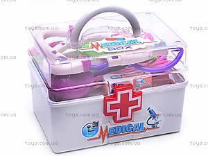 Игрушечный набор доктора в чемоданчике, 6388, цена