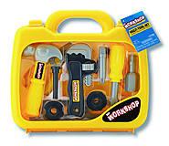 Игрушечный набор инструментов в чемоданчике, K12768, toys