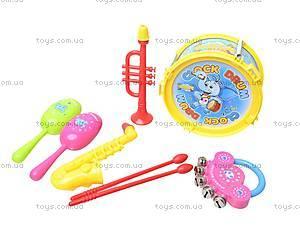 Игрушечный набор музыкальных инструментов, 5519, цена